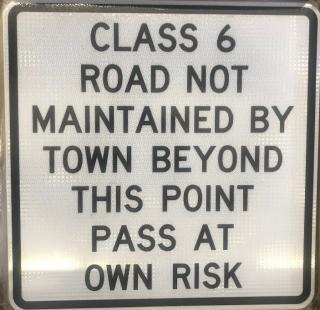 CLASS VI ROADS